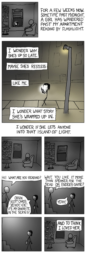 xkcd: Nighttime Stories