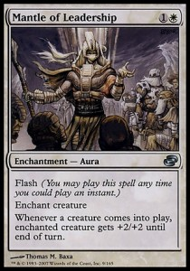 Magic The Gathering: Mantle Of Leadership